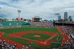 Patriots Day Fenway Park