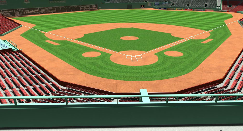 Red Sox EMC Seats View
